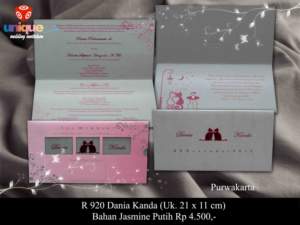 wedding invitation#Dania Kanda
