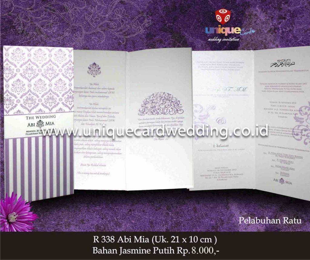 undangan pernikahan#Abi Mia