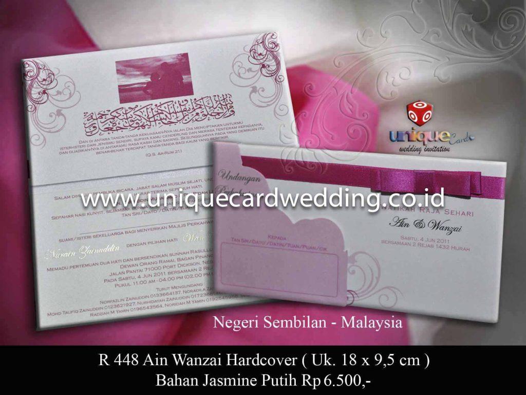 undangan pernikahan#Ain Wanzai