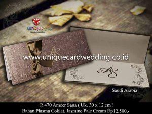 Undangan Pernikahan Ameer - Sana
