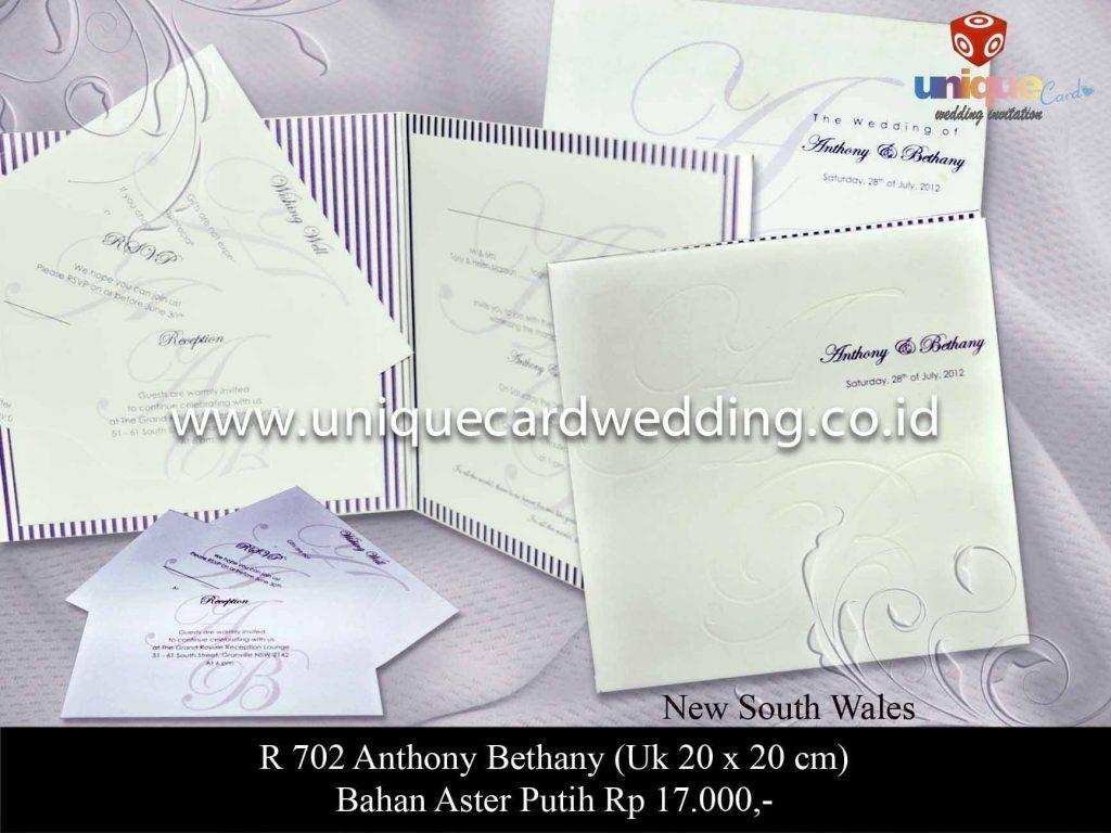 undangan pernikahan#Anthony Bethany