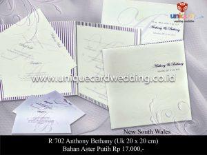 Undangan Pernikahan Anthony - Bethany