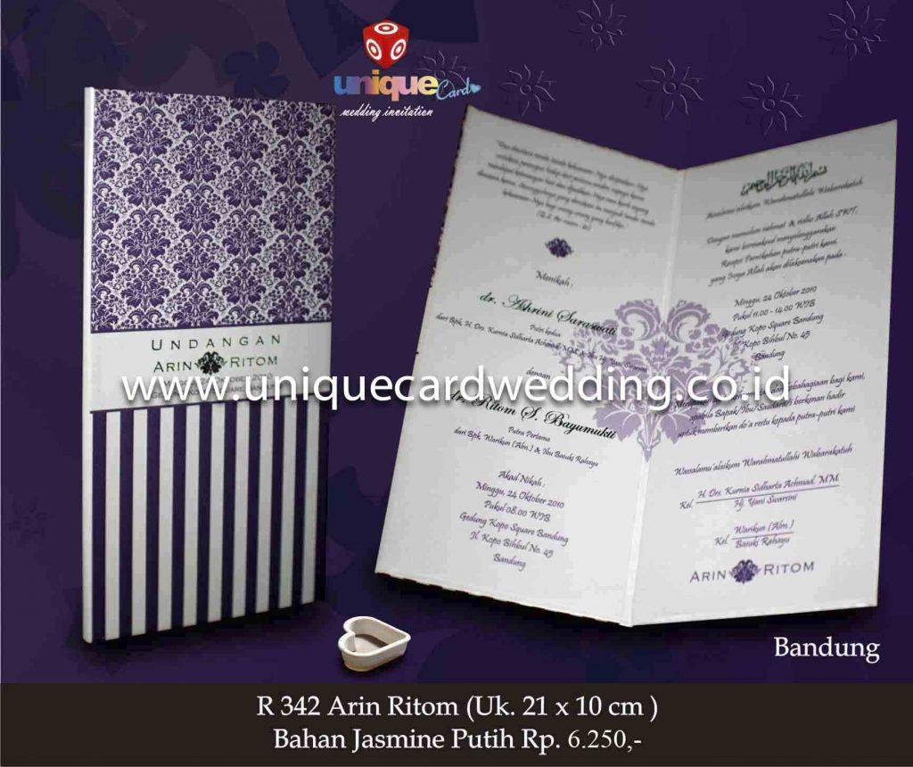 undangan pernikahan#Arin Ritom