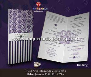 Undangan Pernikahan Arin - Ritom