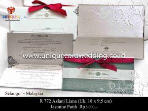 undangan pernikahan#Azlani Liana