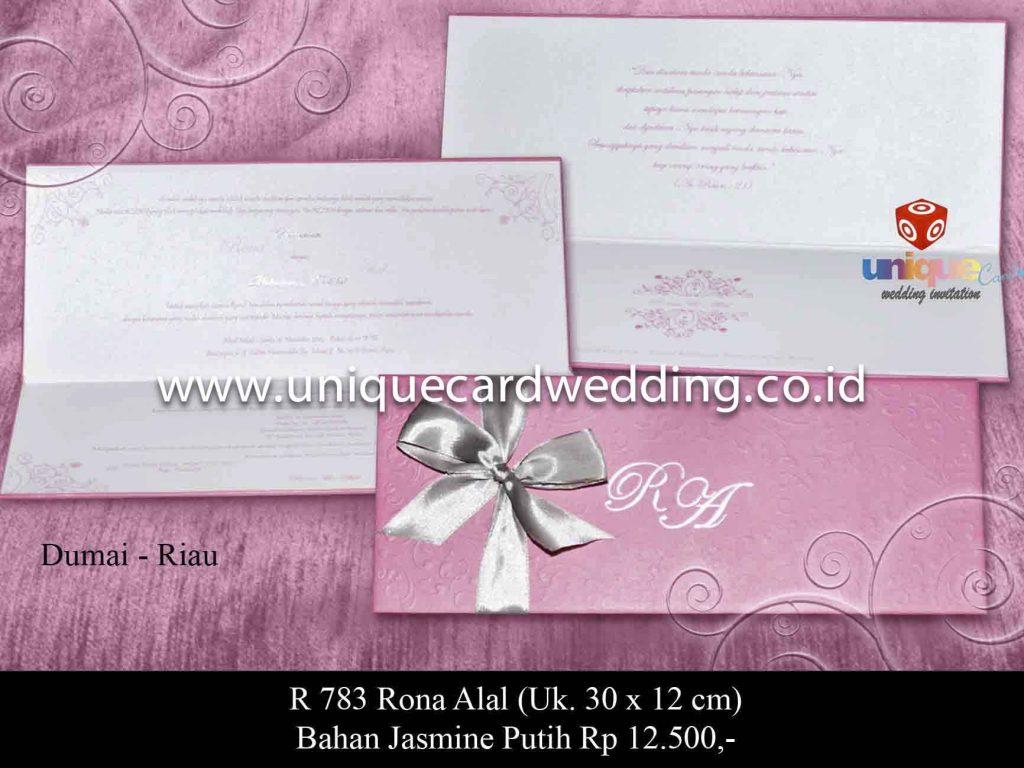 undangan pernikahan#Rona Alal