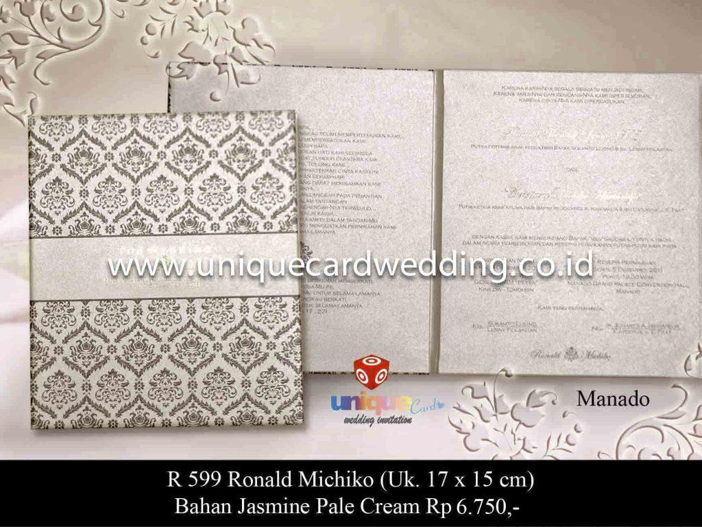undangan pernikahan#Ronald Michiko