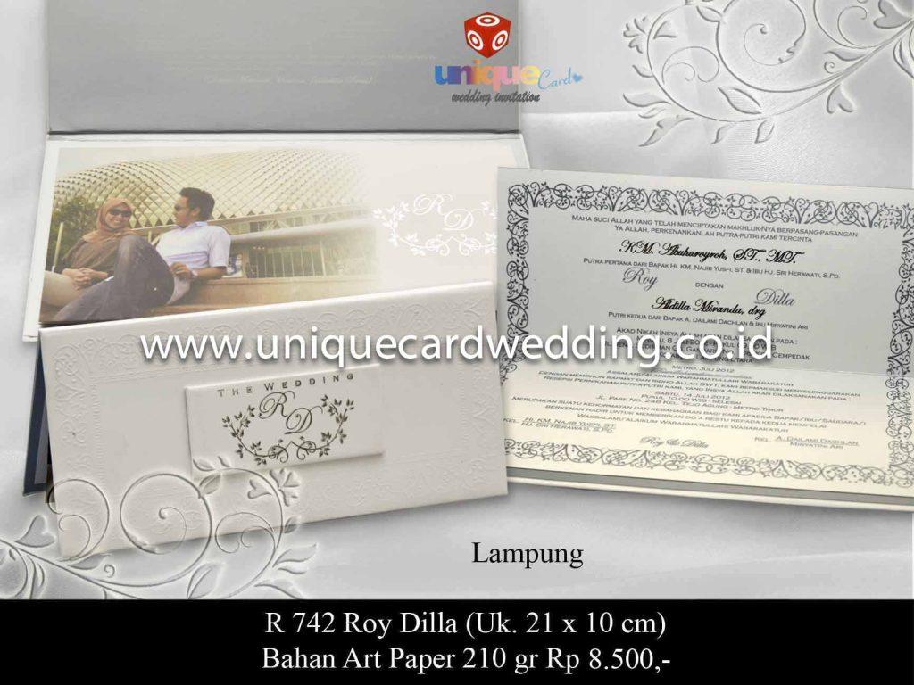undangan pernikahan#Roy Dilla