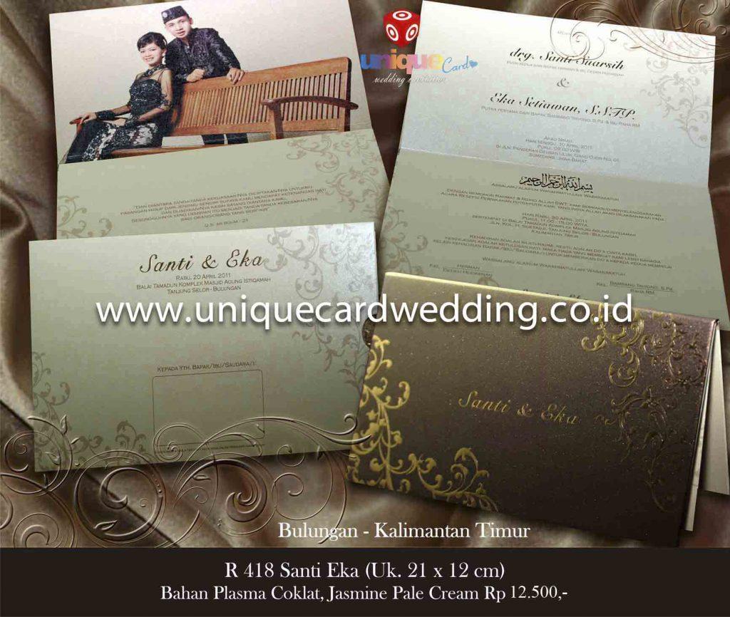 undangan pernikahan#Santi Eka