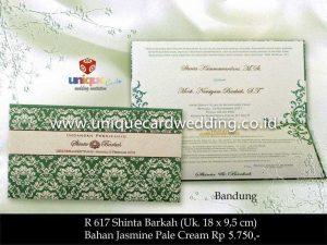 Undangan Pernikahan Shinta - Barkah
