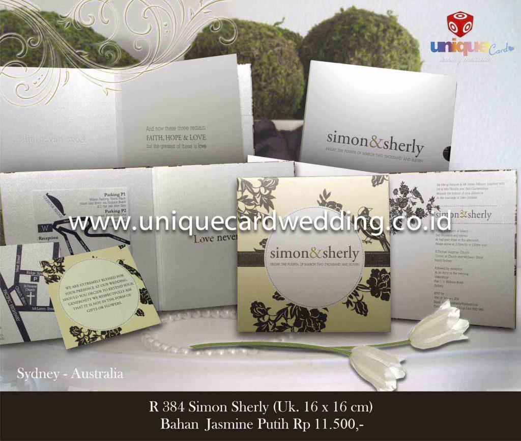 undangan pernikahan#Simon Sherly