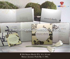 Undangan Pernikahan Simon - SHerly
