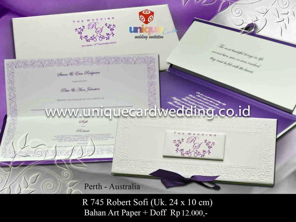 undangan pernikahan#Sofi Robert