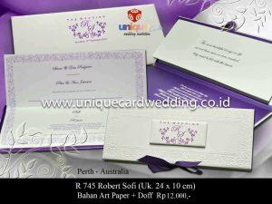 Undangan Pernikahan Sofi - Robert