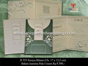 Undangan Pernikahan Soraya - Ikhsan