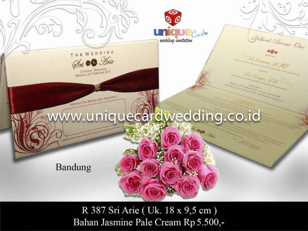 undangan pernikahan#Sri Arie