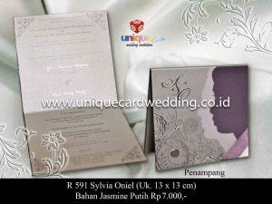 Undangan Pernikahan Sylvia - Oniel