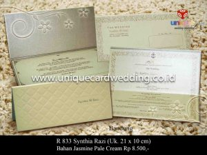 Undangan Pernikahan Synthia - Razi