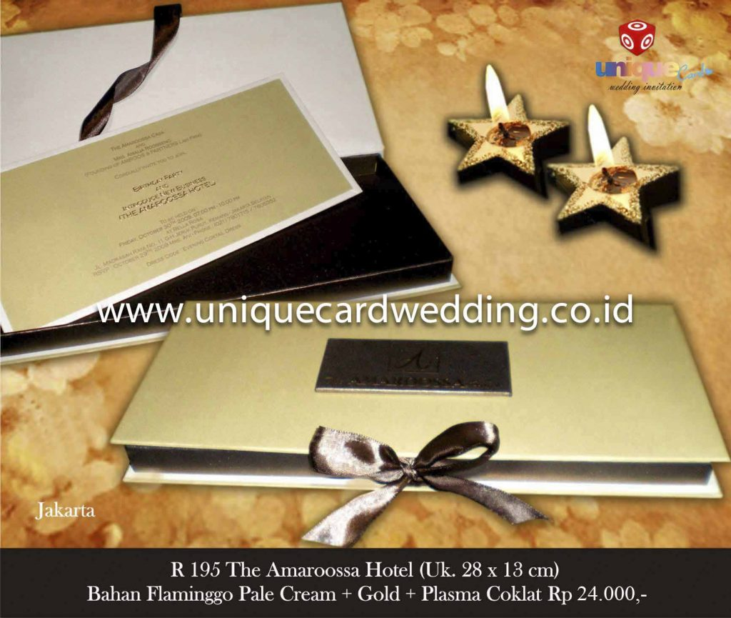 undangan pernikahan#The Amaroossa Hotel