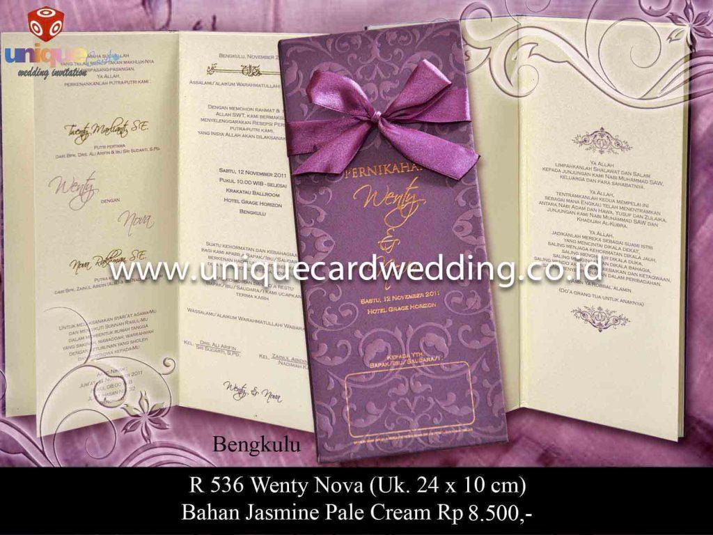 undangan pernikahan#Wenty Nova