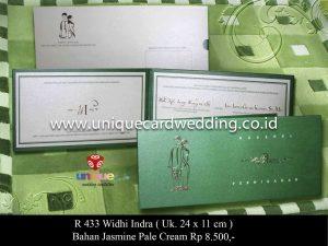 Undangan Pernikahan Widhy - Indra