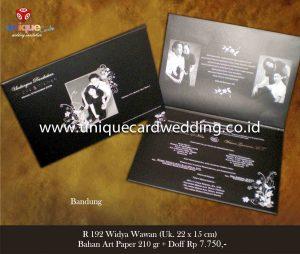 Undangan Pernikahan Widya - Wawan