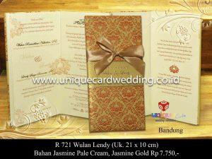Undangan Pernikahan Wulan - Lendy