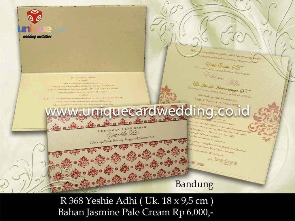 undangan pernikahan#Yeshie Adhi