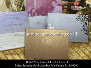 Undangan Pernikahan Yosi - Emir