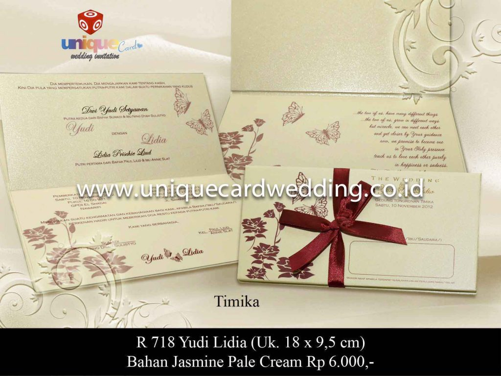 undangan pernikahan#Yudi Lidya
