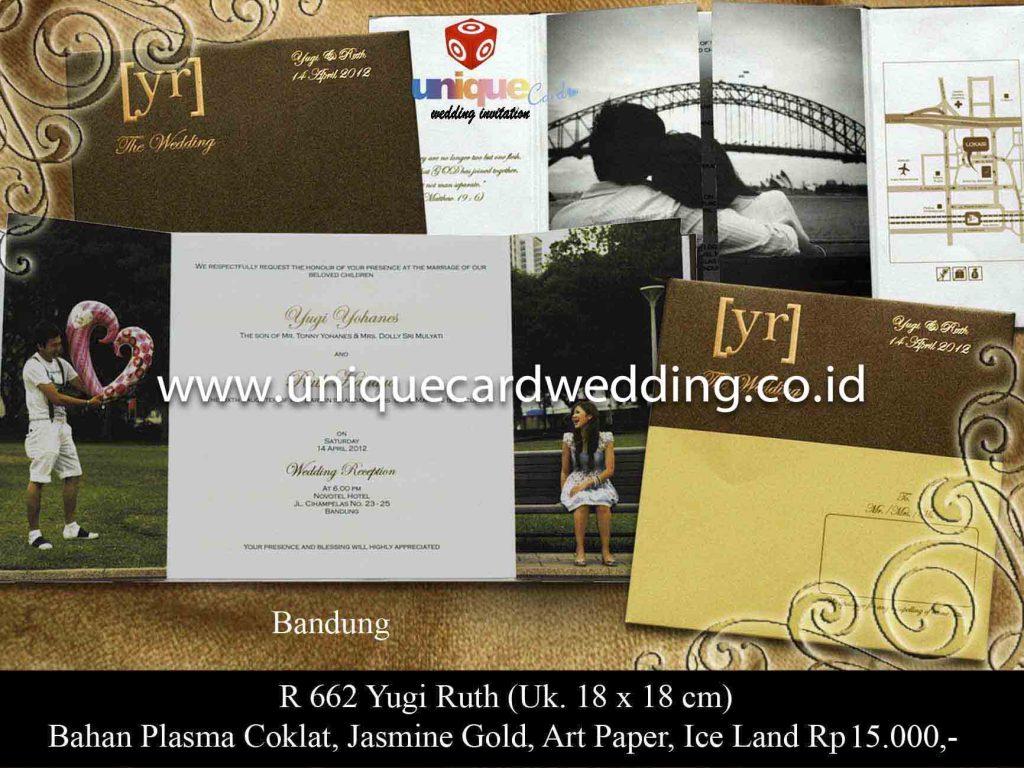 undangan pernikahan#Yugi Ruth