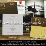 Undangan Pernikahan Yugi - Ruth