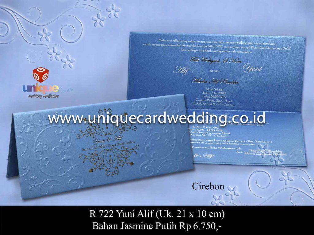 undangan pernikahan#Yuni Alif