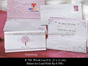Undangan Pernikahan Wiwik - Leo