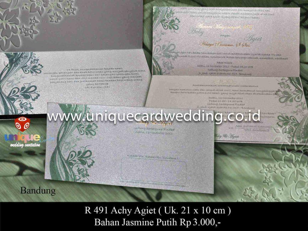 undangan pernikahan#Achie Agit