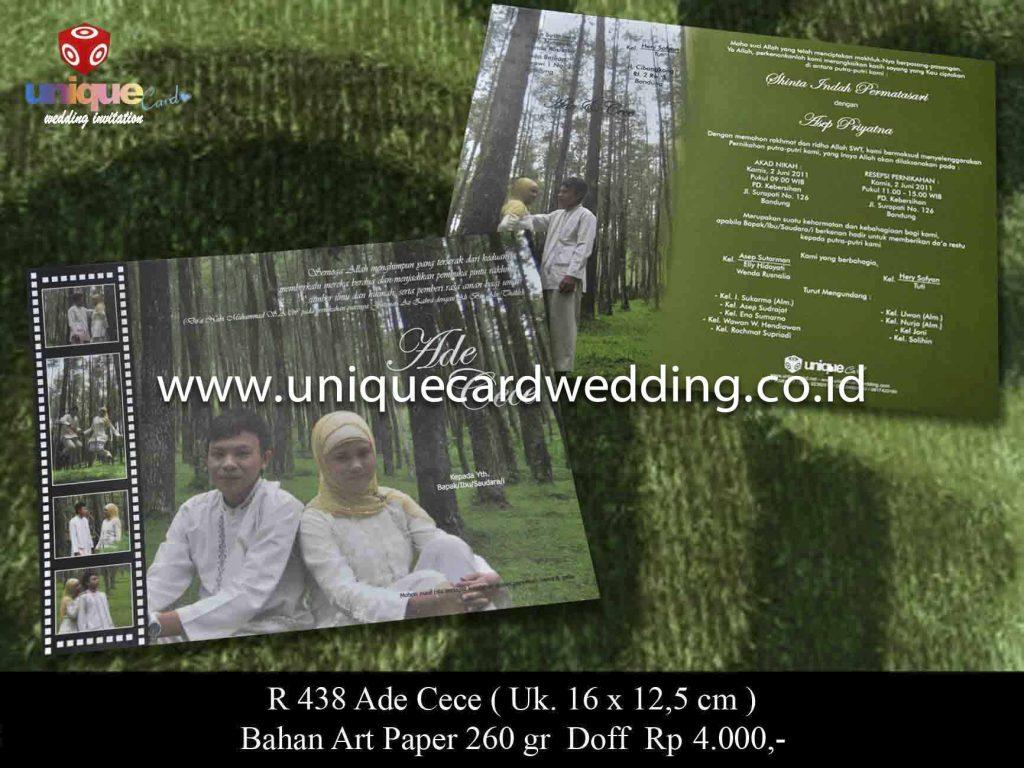undangan pernikahan#Ade Cece