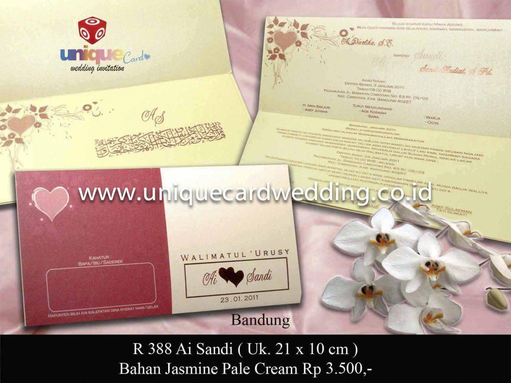 undangan pernikahan#Ai Sandi