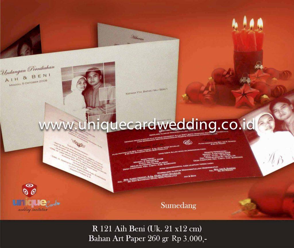 undangan pernikahan#Aih Beni