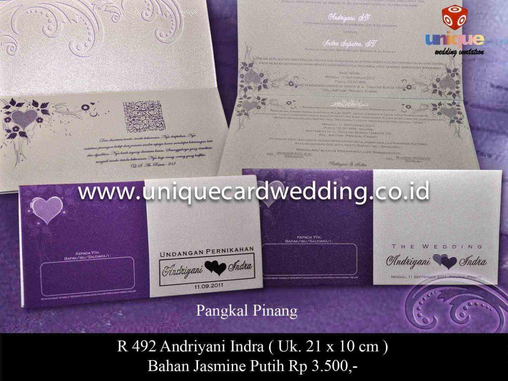 undangan pernikahan#Andriani Indra