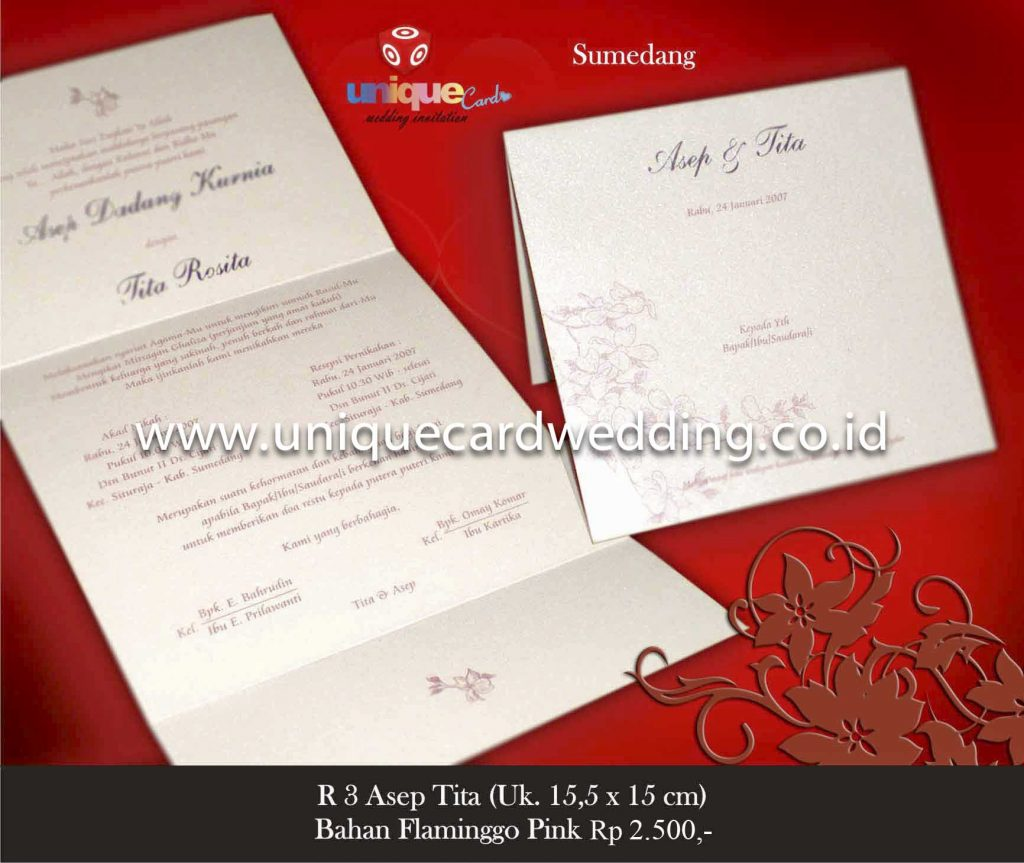 undangan pernikahan#Asep Tita