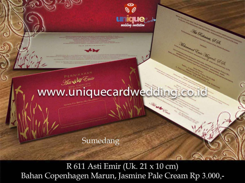 undangan pernikahan#Asti Emir