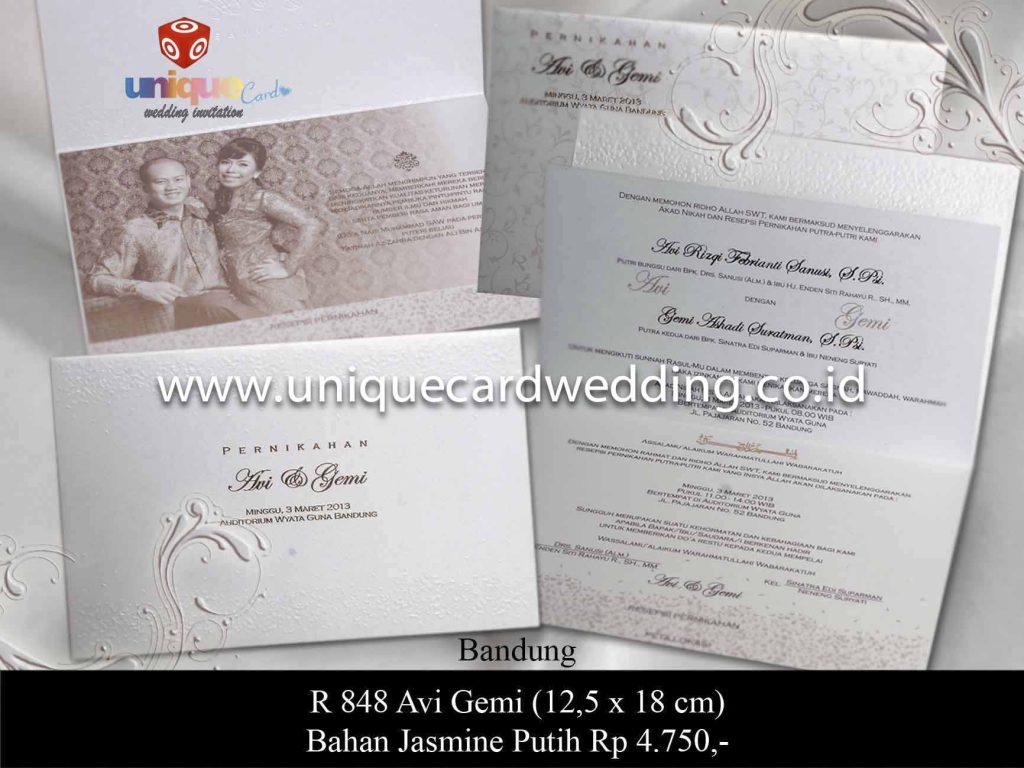 undangan pernikahan#Avy Gemi