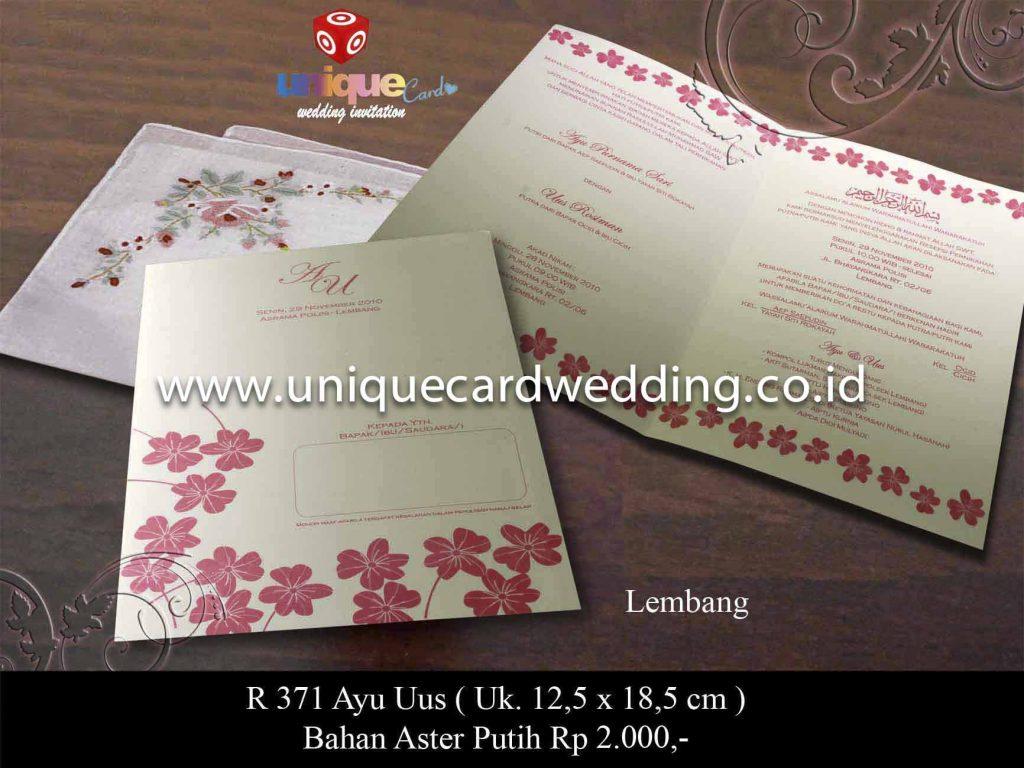 undangan pernikahan#Ayu Uus