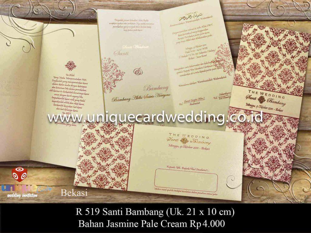 undangan pernikahan#Bambang Santi