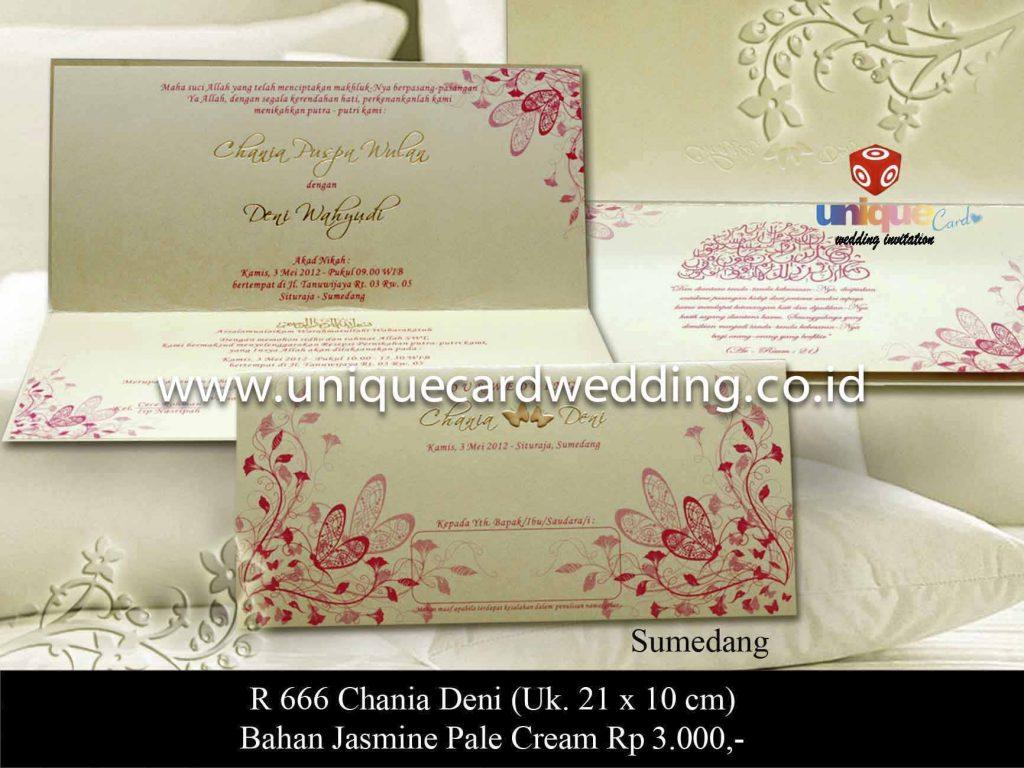 undangan pernikahan#Chania Deni