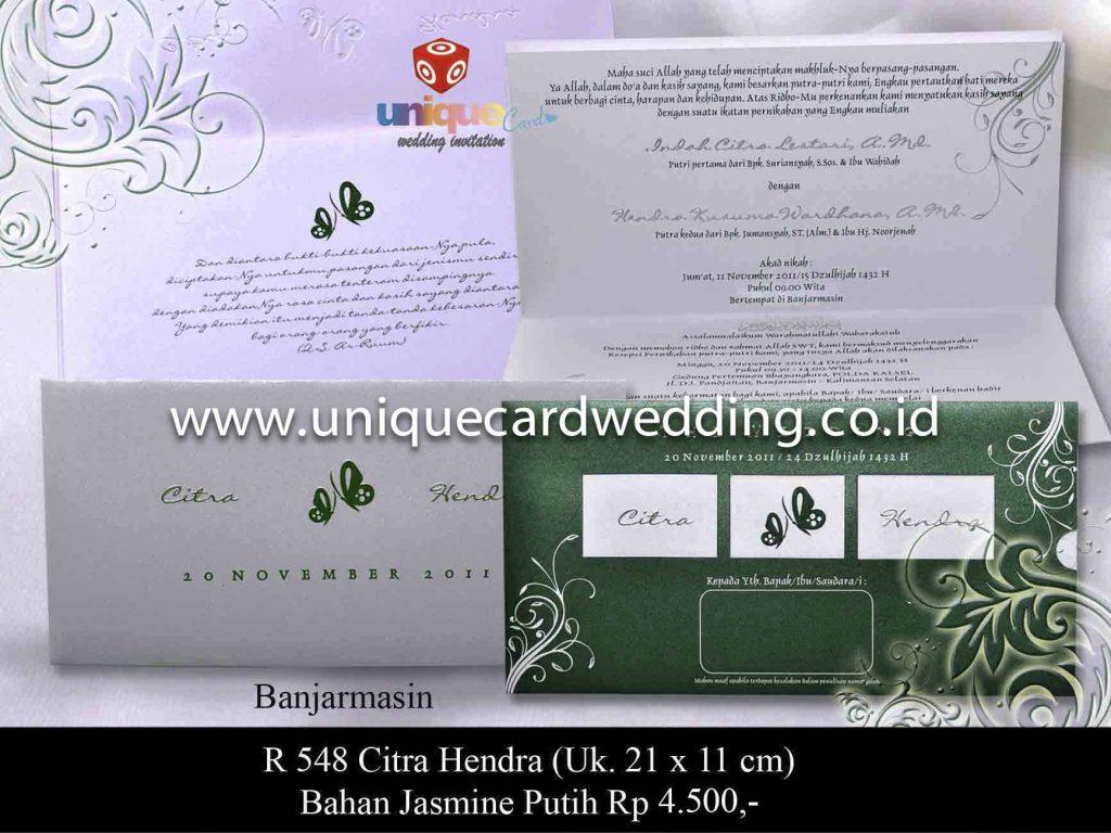 undangan pernikahan#Citra Hendra
