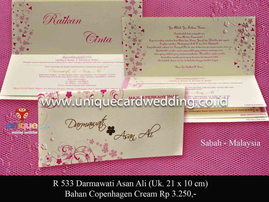 undangan pernikahan#Darmawati Asan Ali