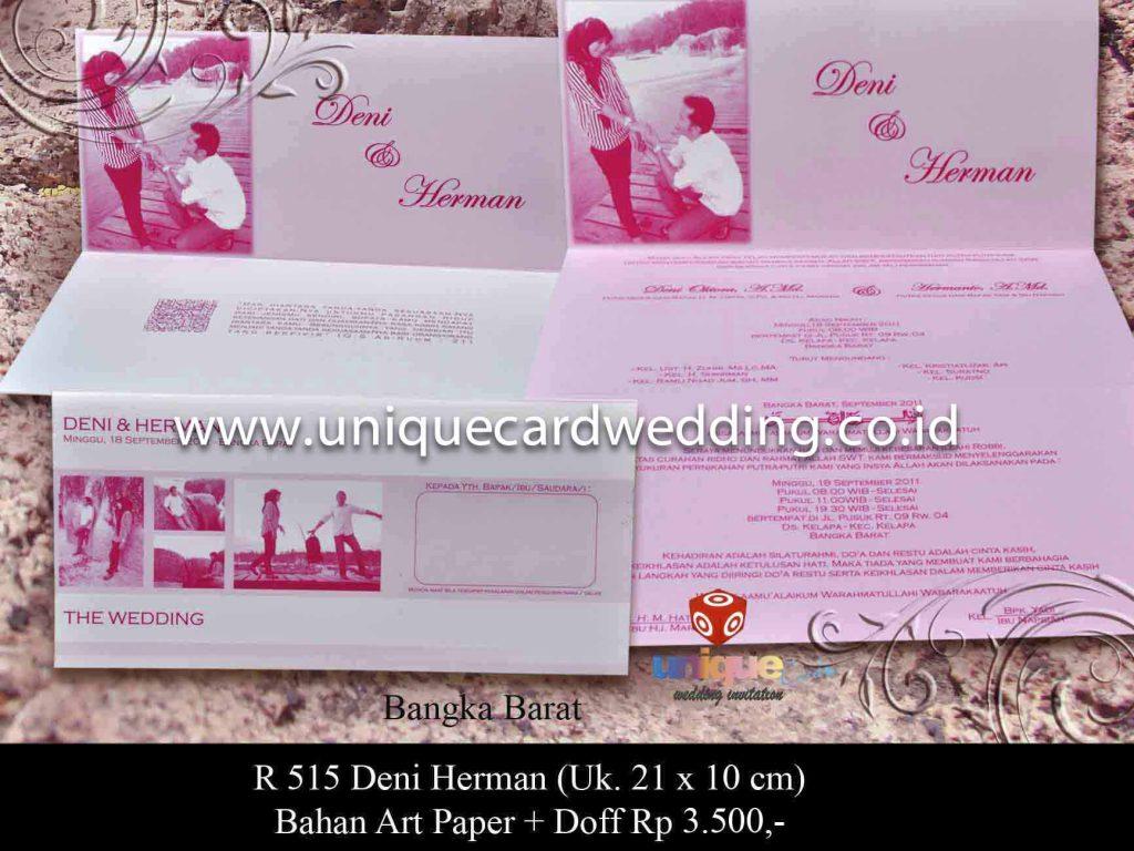 wedding invitation#deni-herman