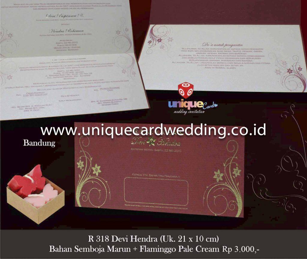 undangan pernikahan#Devi Hendra