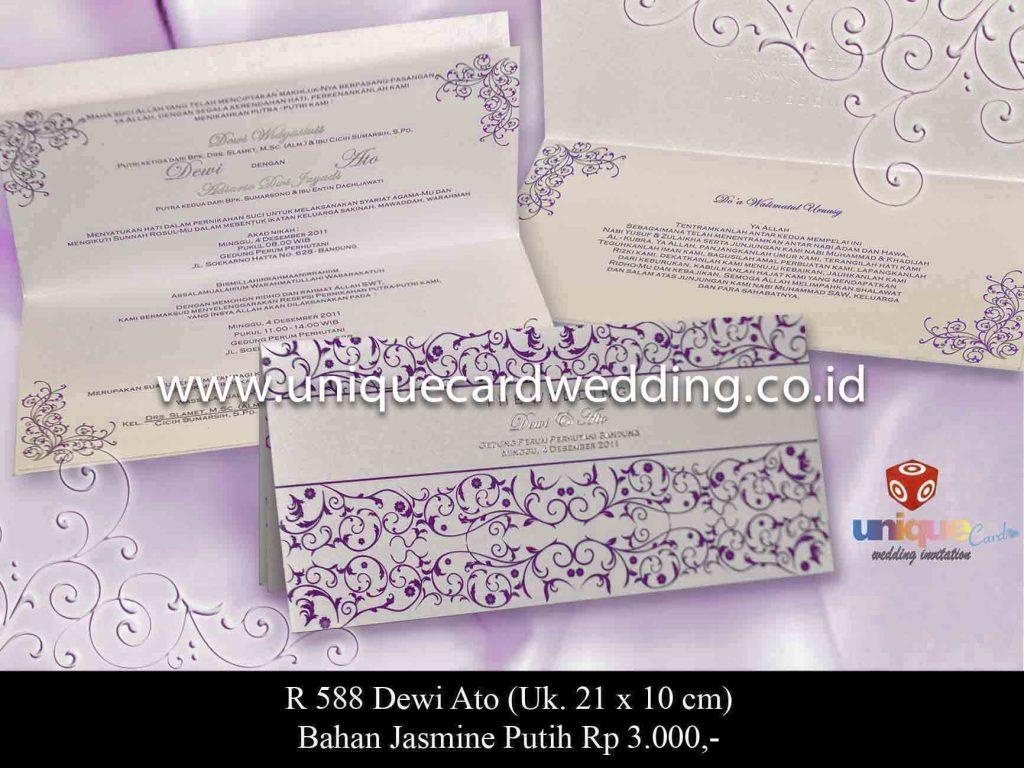undangan pernikahan#Dewi Ato
